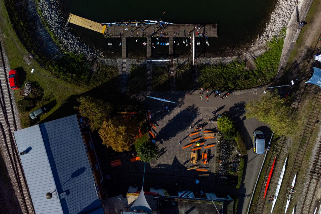 Steganlage und Bootsplatz des KRV Wiking